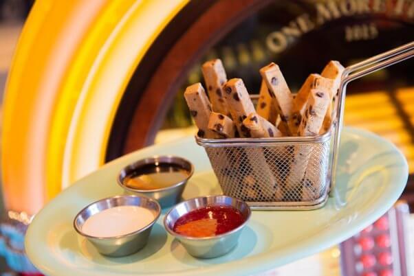 disney world plant-based cookie fries