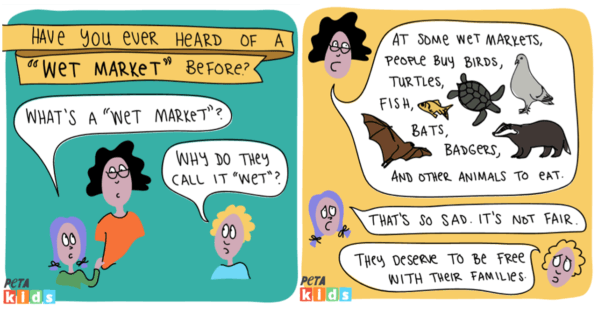 For Adults and Kids Alike: PETA Kids Explains What a 'Wet Market' Is