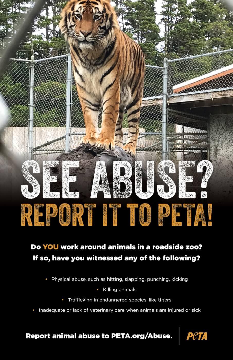 Roadside Zoo Whistleblowers Ad