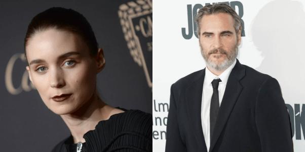 Rooney Mara and Joaquin Phoenix