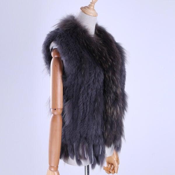 wish.com fur vest