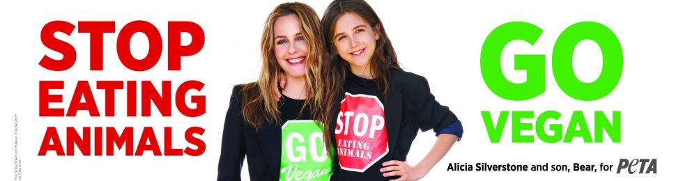Alicia Silverstone: Stop Eating Animals. Go Vegan