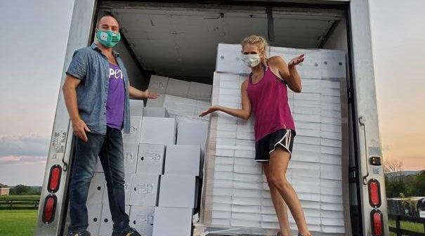 PETA Delivers 4 Tons of Vegan Food to Hunger Relief Program