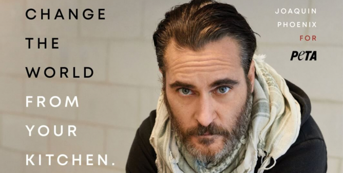 Joaquin Phoenix: Change The World From Your Kitchen