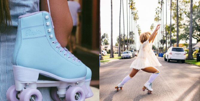 Glide Along With These Leather-Free Roller Skates