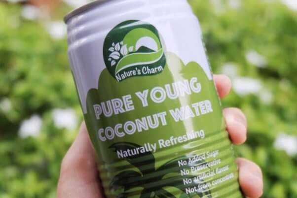 coconut products nature's charm coconut water