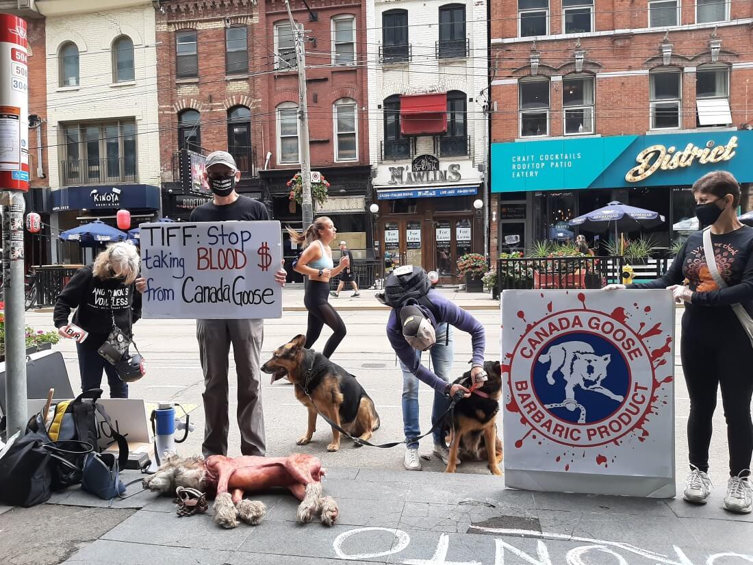 Toronto Film Fest Protest