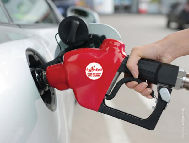 Exxon Evil Sticker
