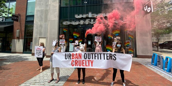 Closed For Cruelty: Help PETA Urge Urban Outfitters Brands to Go Animal-Free