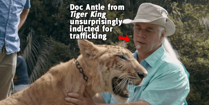 'Doc' Antle From 'Tiger King' Was Just Charged With Two Felonies