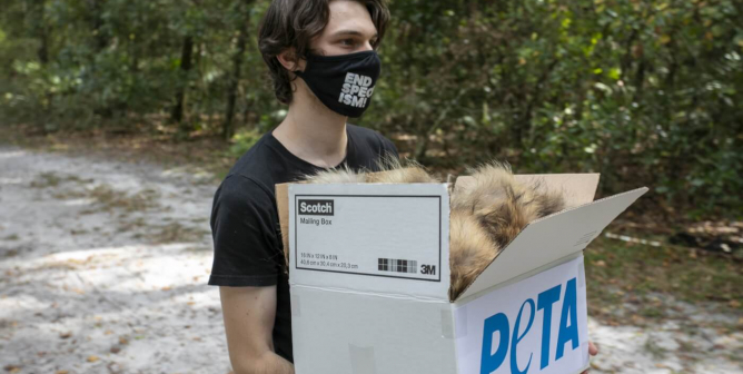 Why PETA Donated Furs to an Animal Sanctuary This Winter