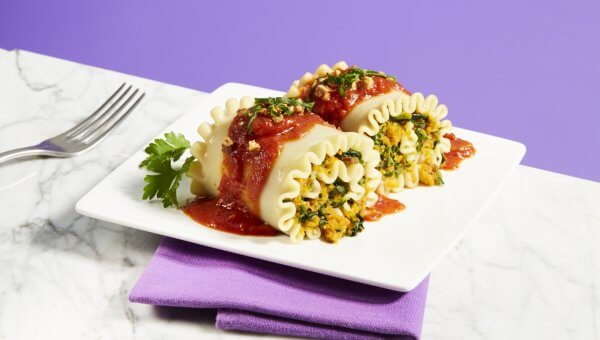 Marco Borges' Butternut Squash and Spinach Lasagna Roll-Ups