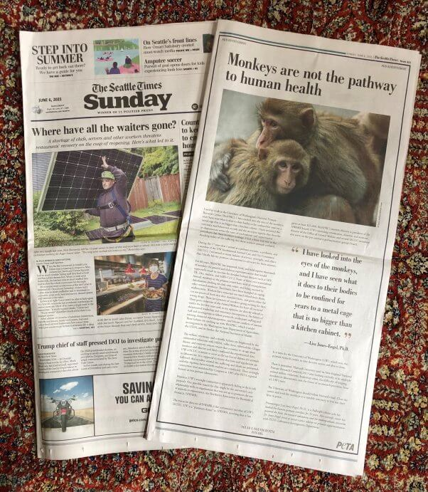 advertorial in the Seattle Times