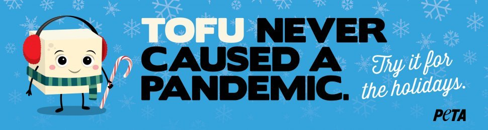 Tofu Never Caused A Pandemic