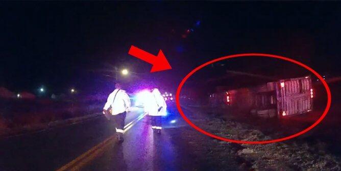 Smithfield-Bound Truck Runs off the Road, Kills Pigs