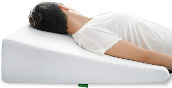 wedge vegan pillow