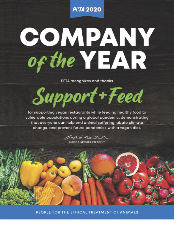 Company of the Year Support + Feed