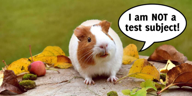 'Guinea Pig' and 'COVID Vaccine' Don't Belong in the Same Sentence
