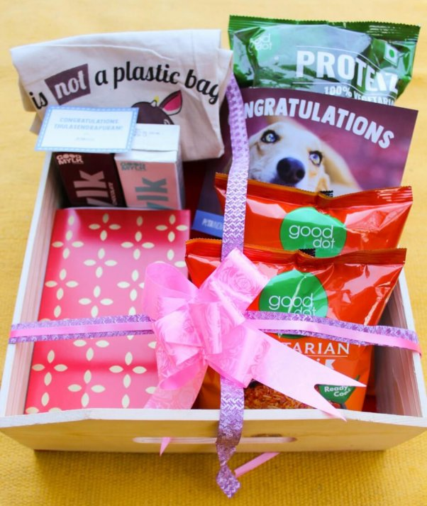 PETA India gifts in honor of Kamala Harris