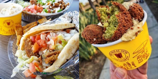 First-Ever Chain to Serve Vegan Gyros! Check Out The Halal Guys