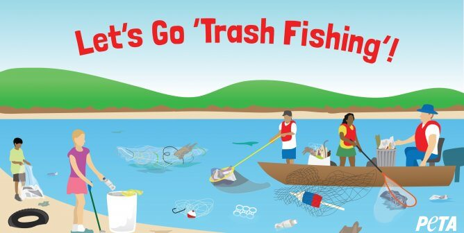 Catch This: Here's Why PETA Wants You to Go on a Fishing Excursion … for Trash
