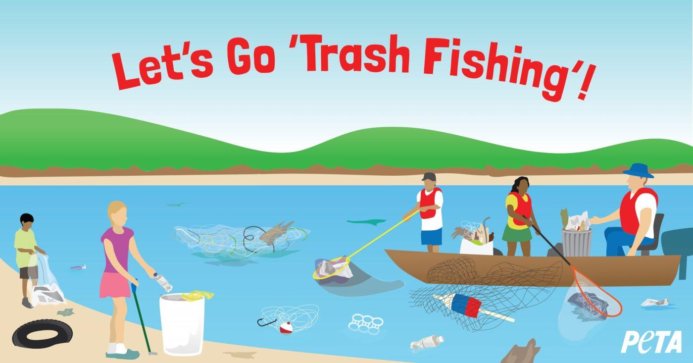 what is trash fishing