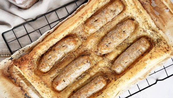 Bomb Veg's Easy Vegan Toad in the Hole