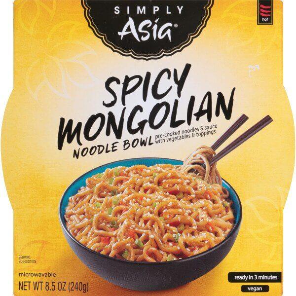 vegan at cvs simply asia bowl