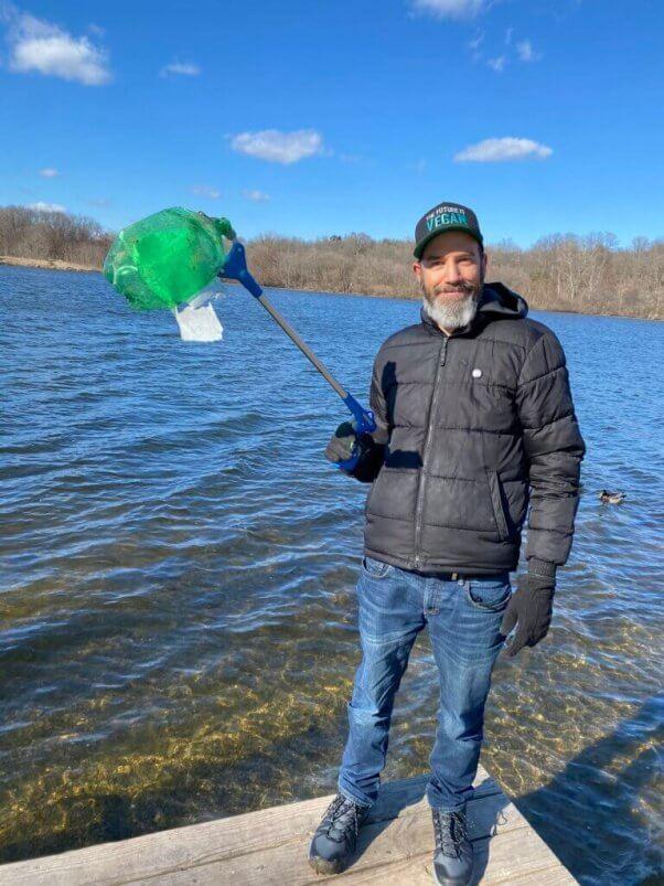 Man Goes Trash Fishing