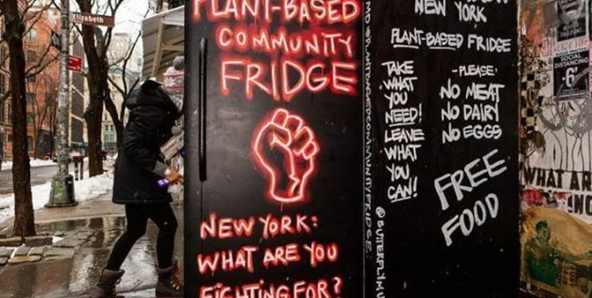These Vegan Community Fridges Are Fighting Food Insecurity