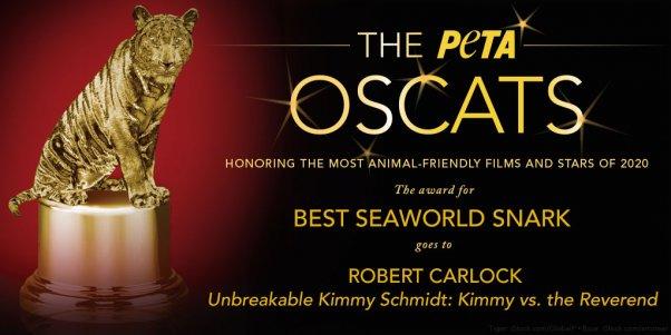 Robert Carlock wins peta oscat award
