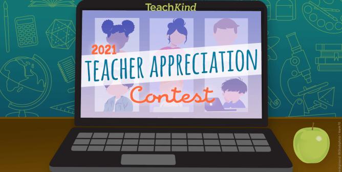 Enter TeachKind's 2021 Teacher Appreciation Contest