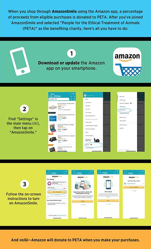 instructions to use Amazon Smile