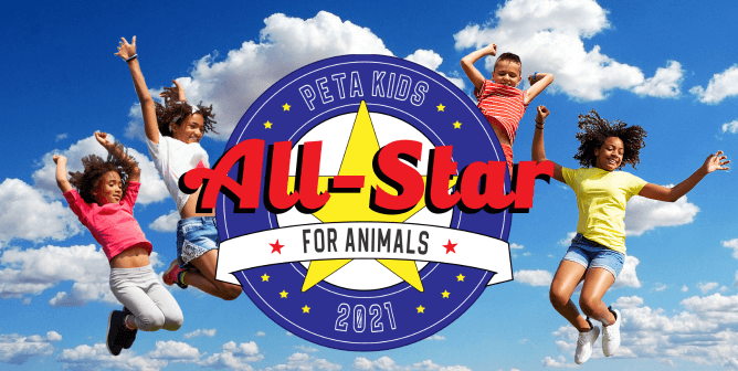 It's PETA Kids' All-Star for Animals Contest 2021—Vote Now!
