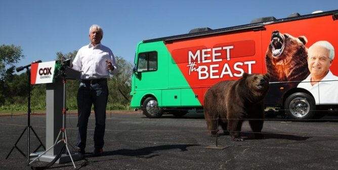 Wildly Dangerous California Event With Live Bear Prompts PETA Call to the Feds