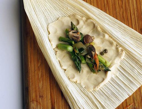 vegan tamales for cinco de mayo