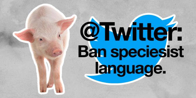 Twitter's Taking Out the Trash—Will It Bin Speciesist Language, Too?