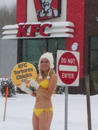 KFC Bikini Demo