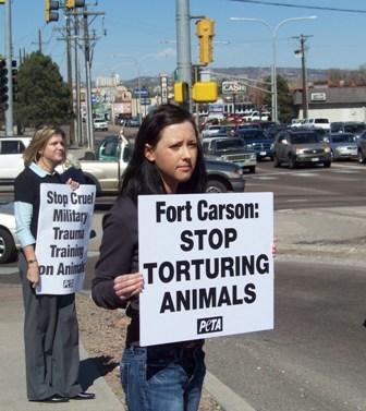 Ft. Carson demo