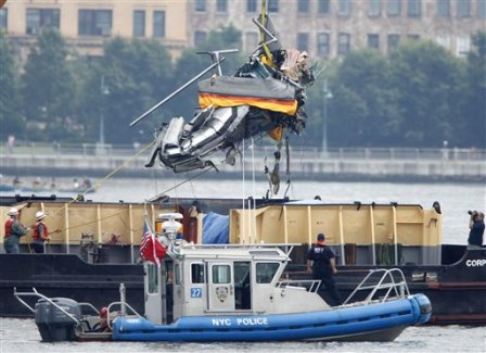Hudson helicopter tragedy