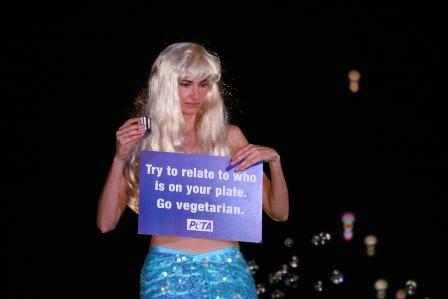 Go Veg Mermaid