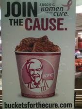KFC Pink Buckets