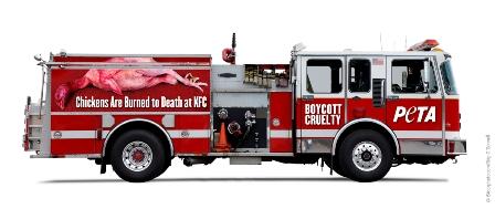 KFC firetrucks
