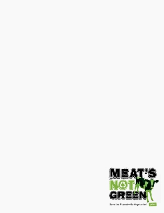 Meat's Not Green Paper