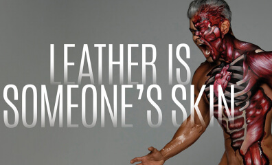 Famous Photographer Mike Ruiz Reminds Everyone 'Leather Is Someone's Skin'