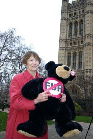 PETA bear fur MP protest today- Glenda Jackson.jpg