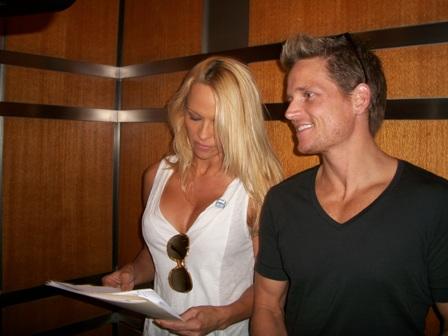 Pamela and Damien