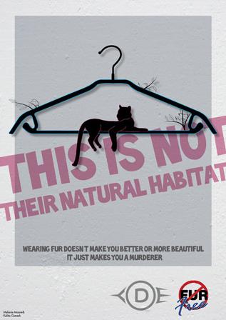 Fur Free Poster