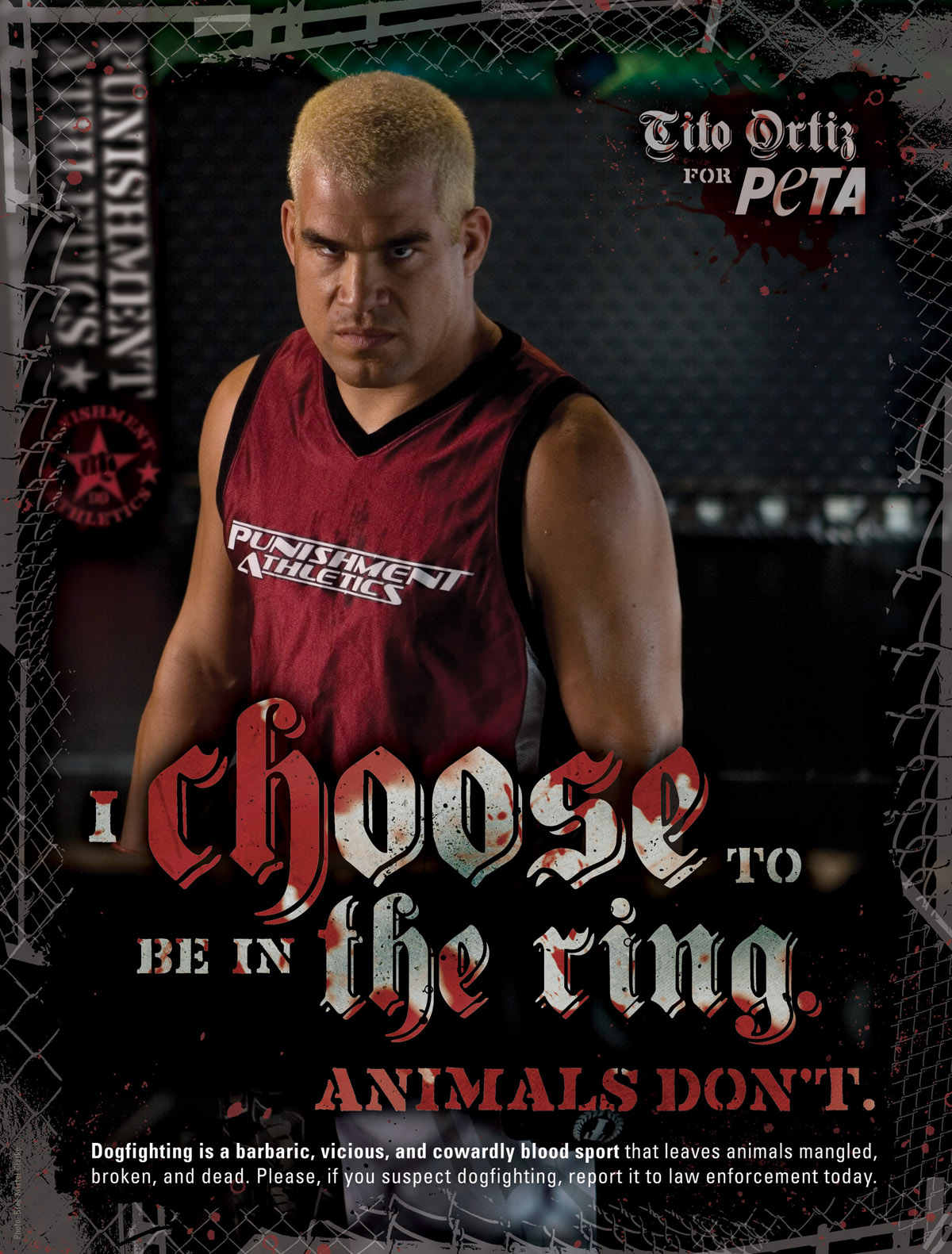 Tito Ortiz's Anti-Dogfighting Ad