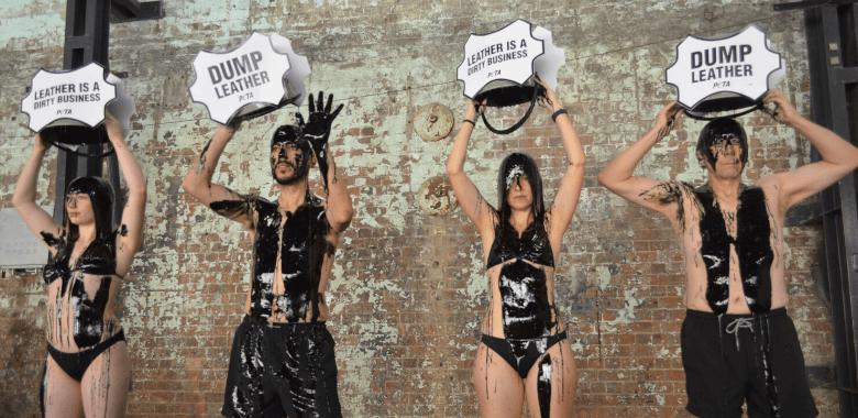 'Toxic Slime' Protest Hits Australian Fashion Week